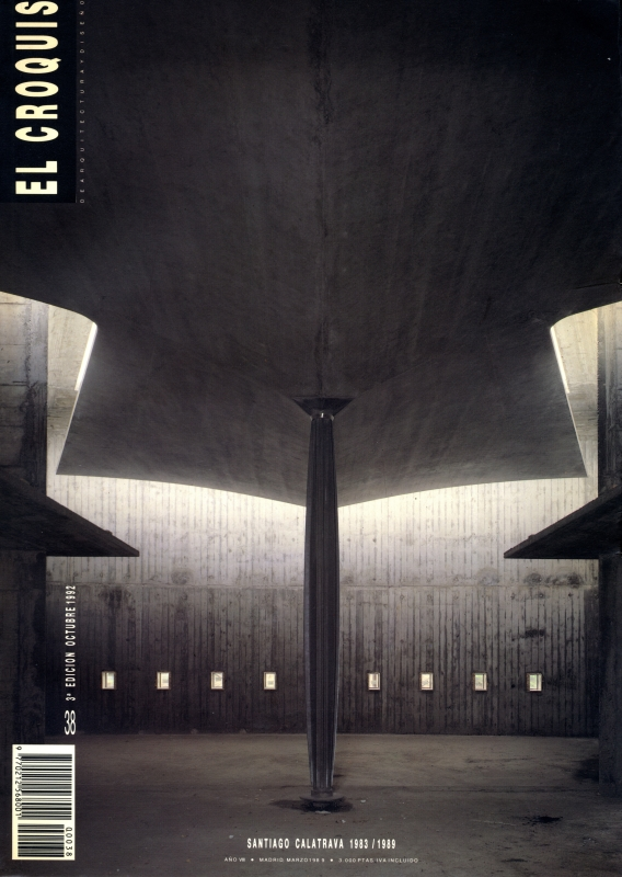 El croquis N. 38: Santiago Calatrava 1983-1989