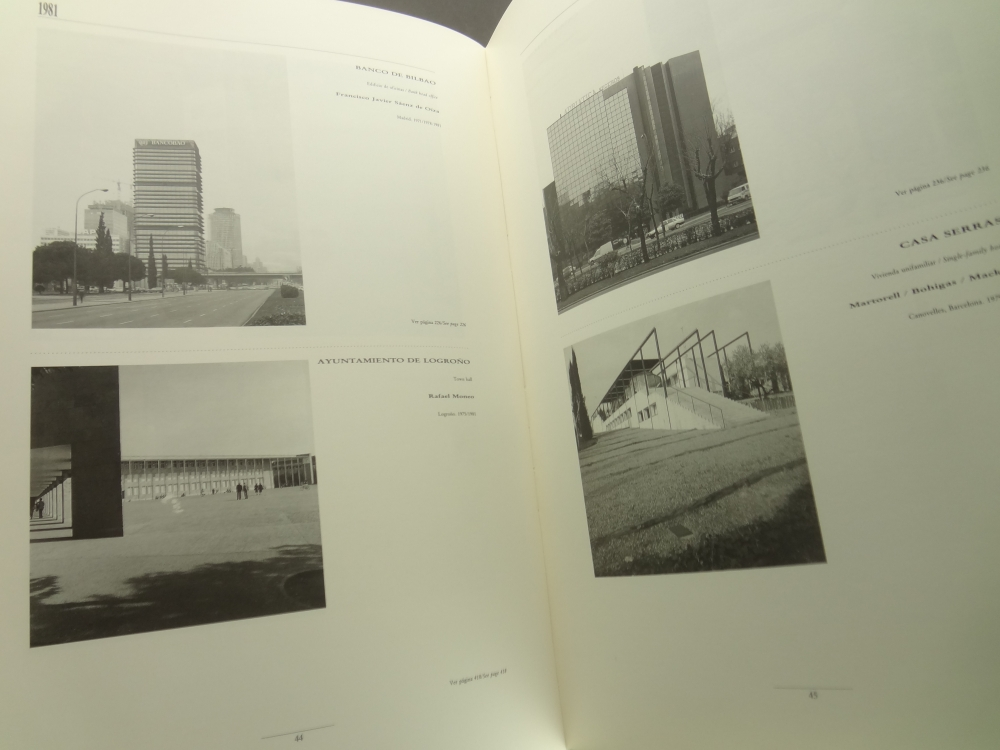 Arquitectura espanola contemporanea: Spanish Contemporary Architecture 1975-1990, 1&2 2冊セット2