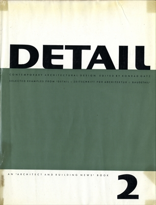 Detail: Contemporary Architectural Design volume 2