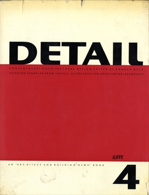 Detail: Contemporary Architectural Design volume 4