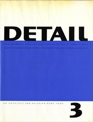 Detail: Contemporary Architectural Design volume 3
