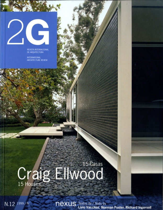 2G: Revista International de Arquitectura #12: Craig Ellwood 15 Casas/Houses