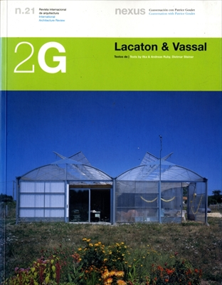 2G: Revista International de Arquitectura #21: Lacaton & Vassal