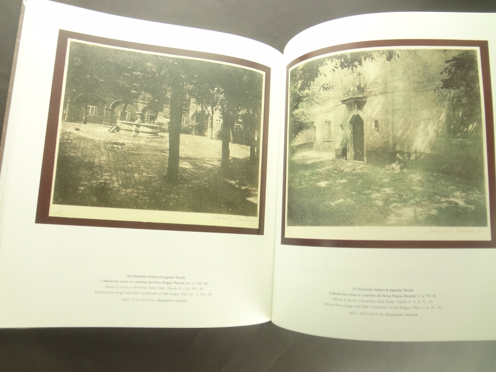 Frantisek Drtikol Fotografie z let 1901-1914 a album Z dvoru a dvorecku stare Prahy / Photographs from the period between 1901-1914 and the album From Large and Little Courtyards of Old Prague7