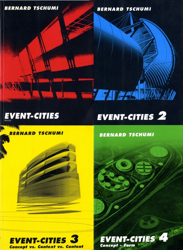Event-Cities 4 vols.