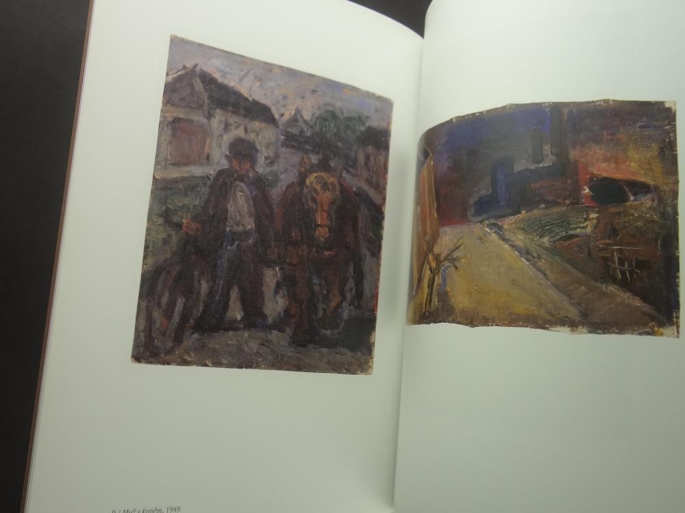 Radoslav Kutra Barva-tvar-duch: Obrazy, kvase, kresby 1941-20051