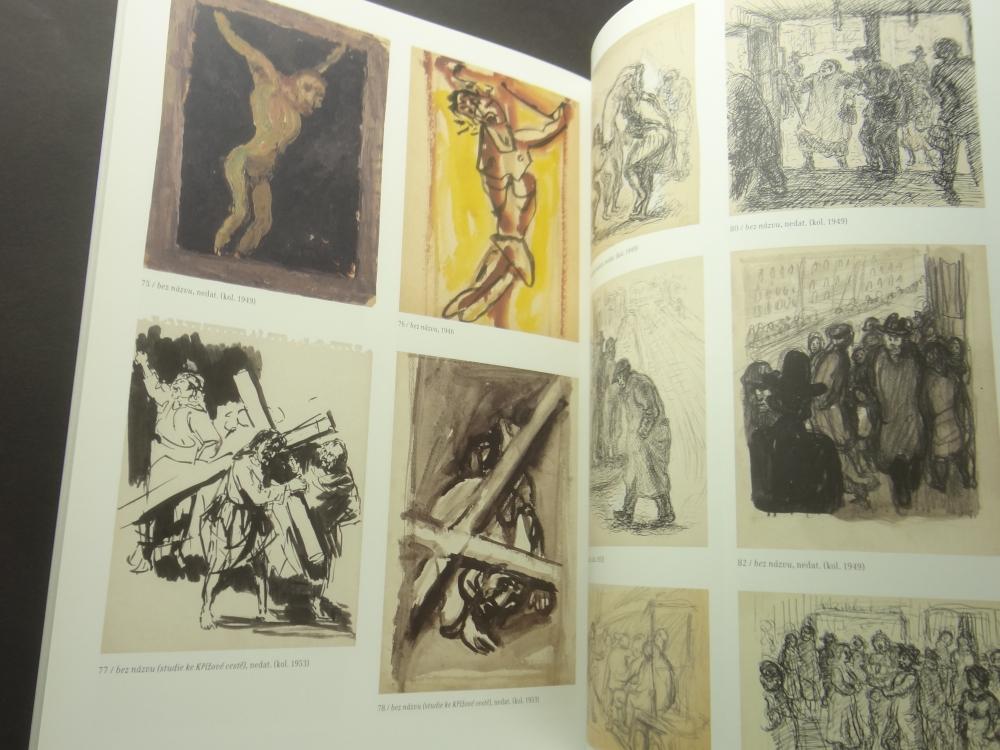 Radoslav Kutra Barva-tvar-duch: Obrazy, kvase, kresby 1941-20055