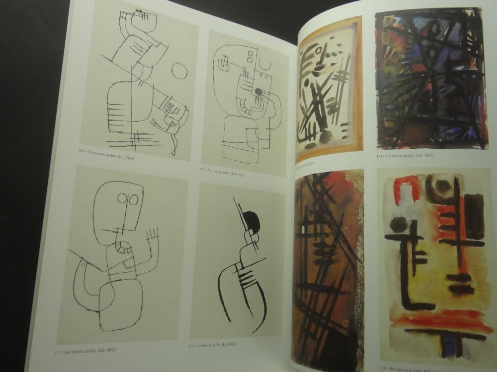 Radoslav Kutra Barva-tvar-duch: Obrazy, kvase, kresby 1941-20056