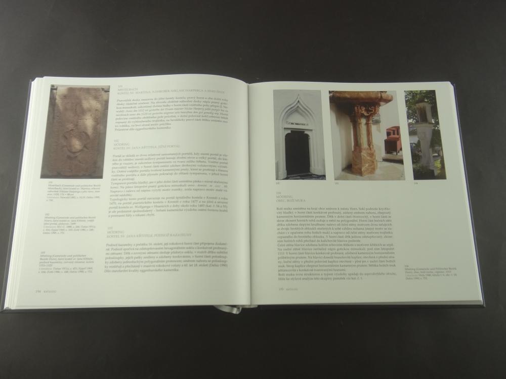 Kamenne skulptury v podyji 1480-1550 (Stone Carvings in Moravian-Austrian Dyje Valley 1480-1550)6