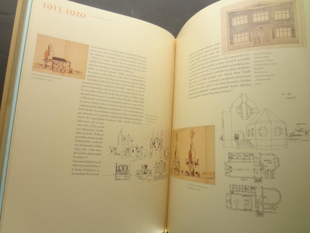 Lomene, hranate a obloukove tvary: Ceska kubisticka architektura 1911-19231