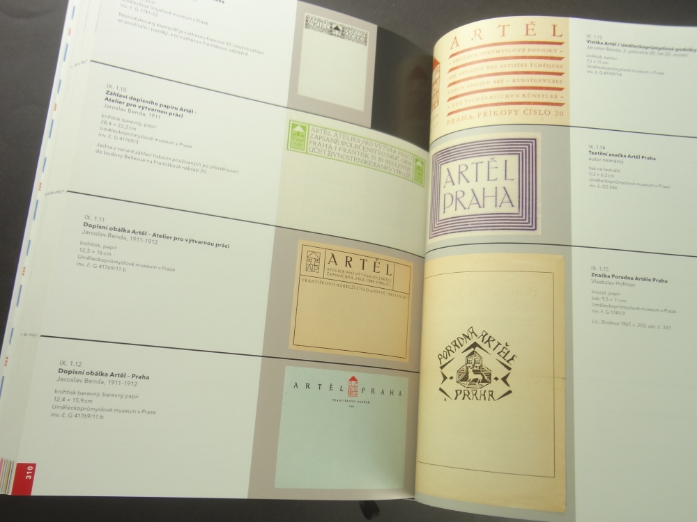 Artel: Umeni pro vsedni den 1908-193511