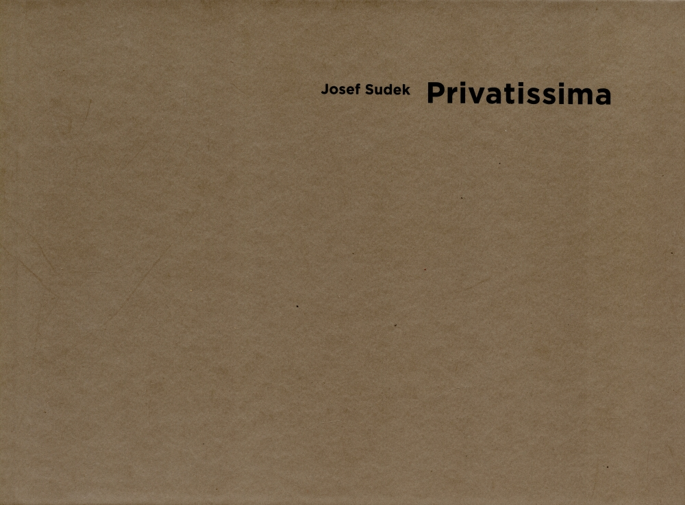 Josef Sudek Privatissima