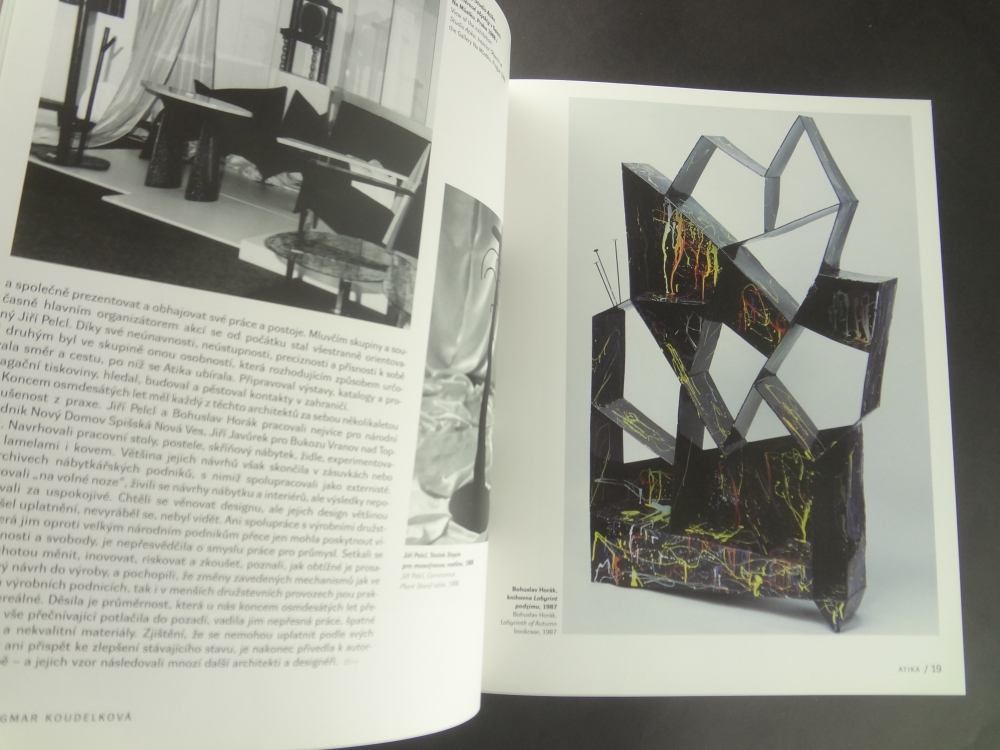 Atika 1987-1992 Emorce a forma / Emotion and Form1