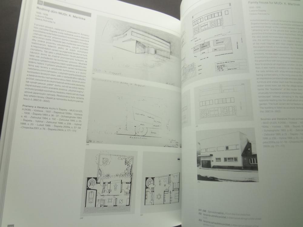 Lubomir Slapeta 1908-1983, Cestmir Slapeta 1908-1999 Architektonicke dilo / Architectural work5