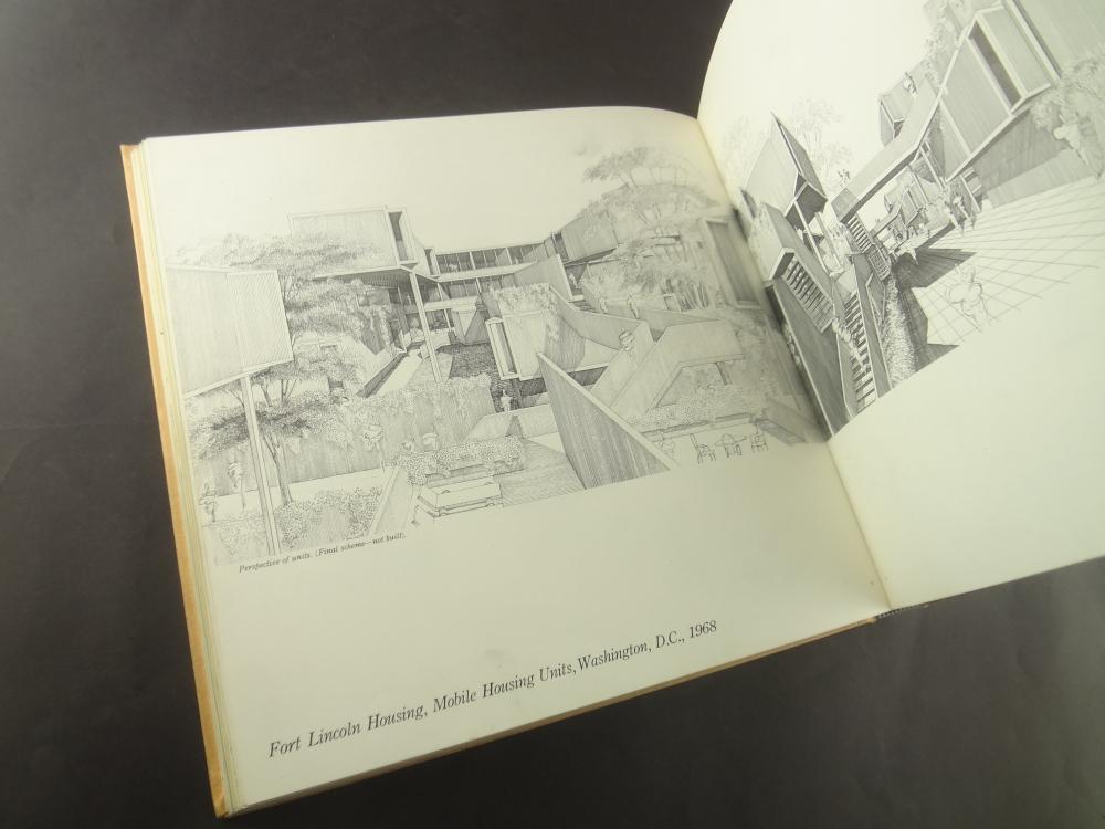 ポール・ルドルフの建築透視図1