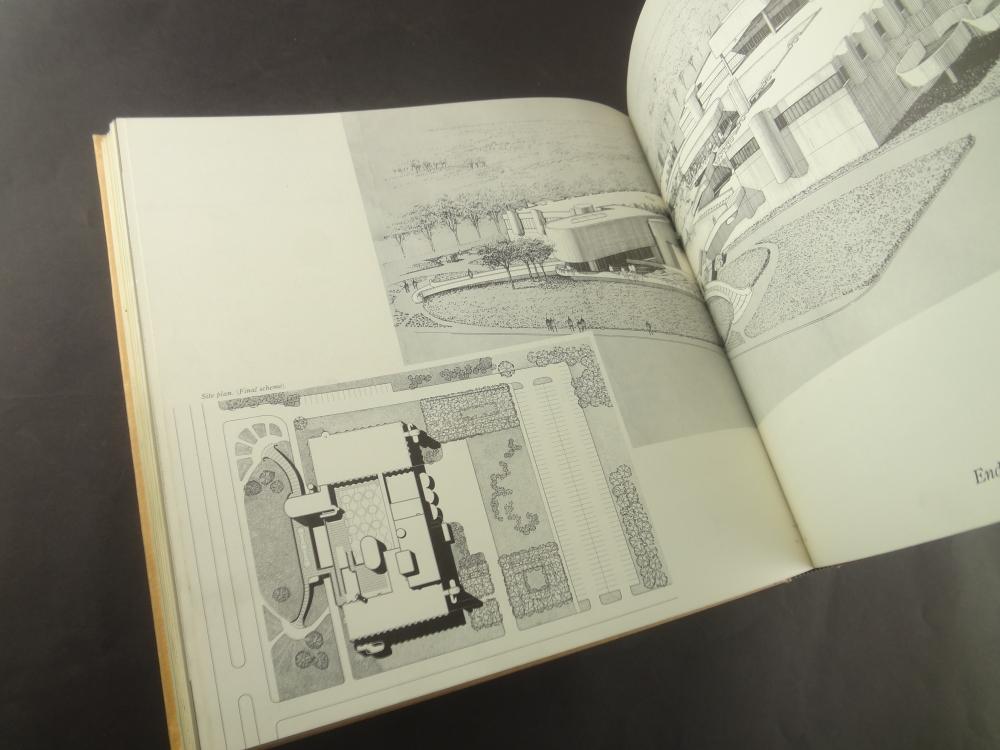 ポール・ルドルフの建築透視図4