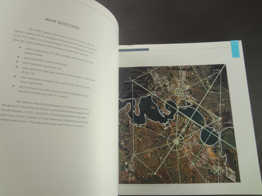 The Griffin Legacy: Canberra, the Nation's Capital in the 21st Century1