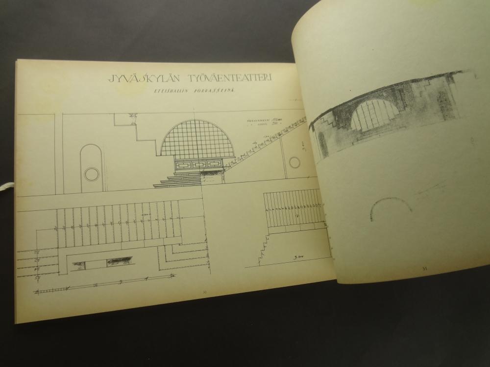Viiva Linjen The Line: Original Drawings from The Alvar Aalto Archive4