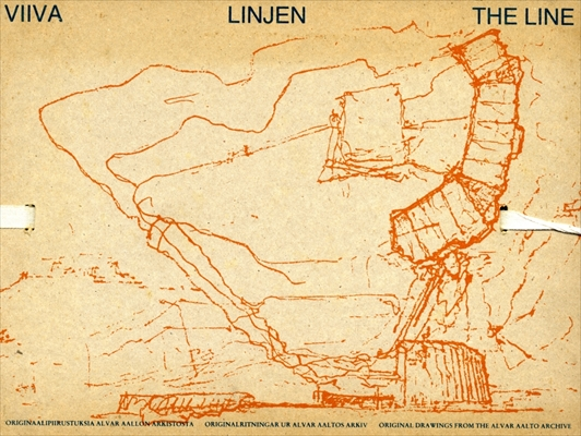 Viiva Linjen The Line: Original Drawings from The Alvar Aalto Archive