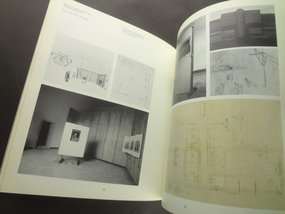 Carlo Scarpa: Palazzo Abatellis; La Galleria della Sicilia, Palermo 1953-54 - Opere e progetti2