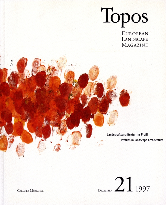 Topos: European Landscape Magazine #21 Profiles in landscape architecture