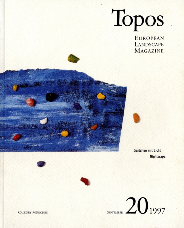 Topos: European Landscape Magazine #20 Nightscape