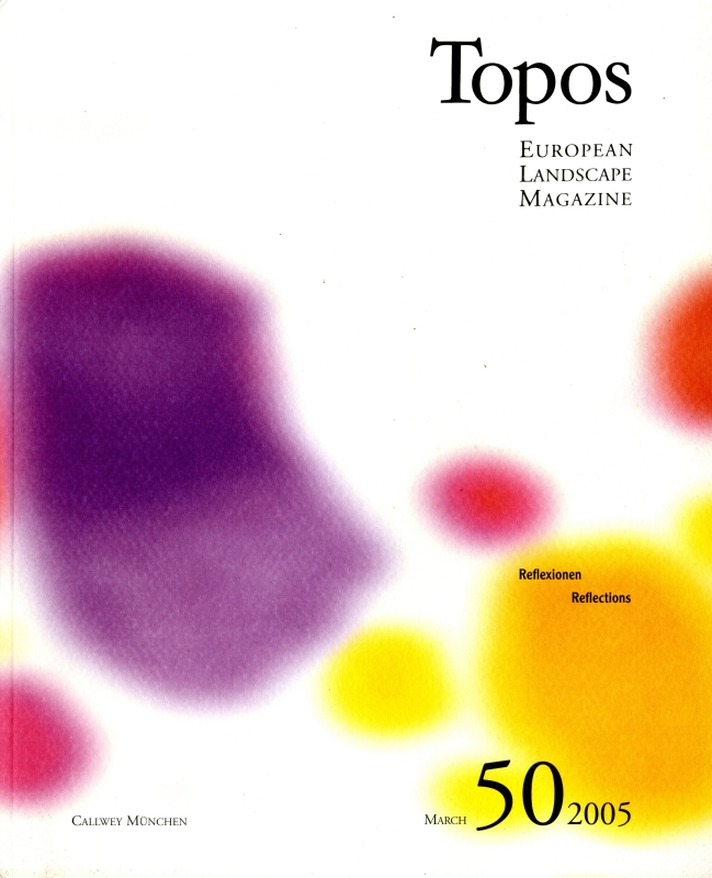 Topos: European Landscape Magazine #50 Reflections