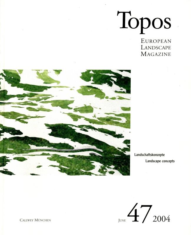 Topos: European Landscape Magazine #47 Landscape Concepts
