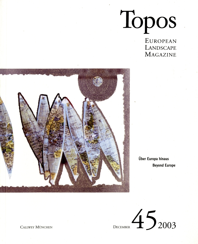 Topos: European Landscape Magazine #45 Beyond Europe