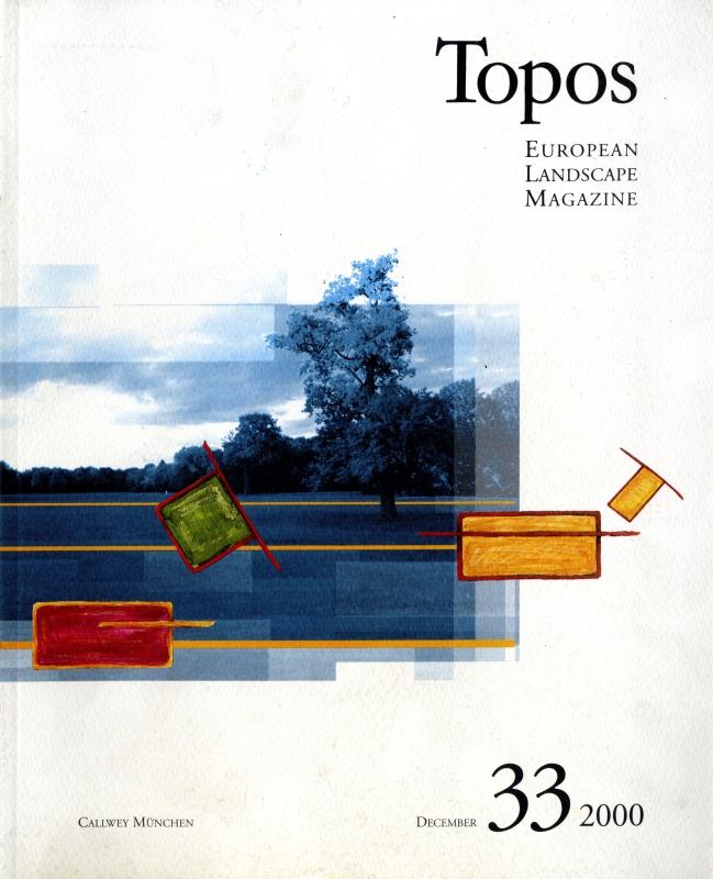 Topos: European Landscape Magazine #33