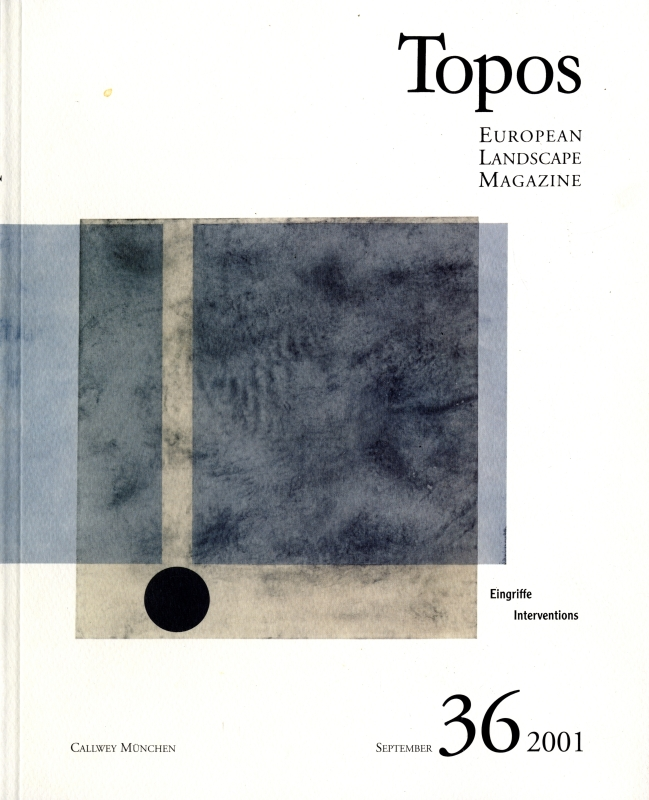 Topos: European Landscape Magazine #36 Interventions