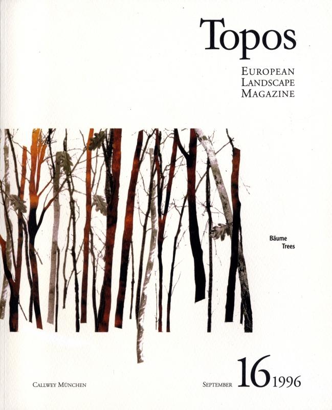 Topos: European Landscape Magazine #16 Trees