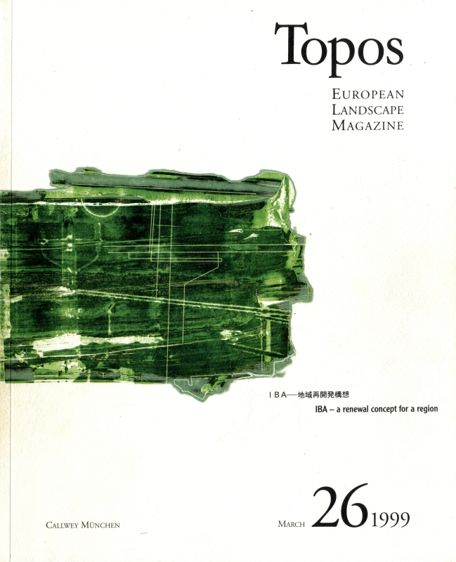 Topos: European Landscape Magazine #26 IBA-地域再開発構想 [日本語版]