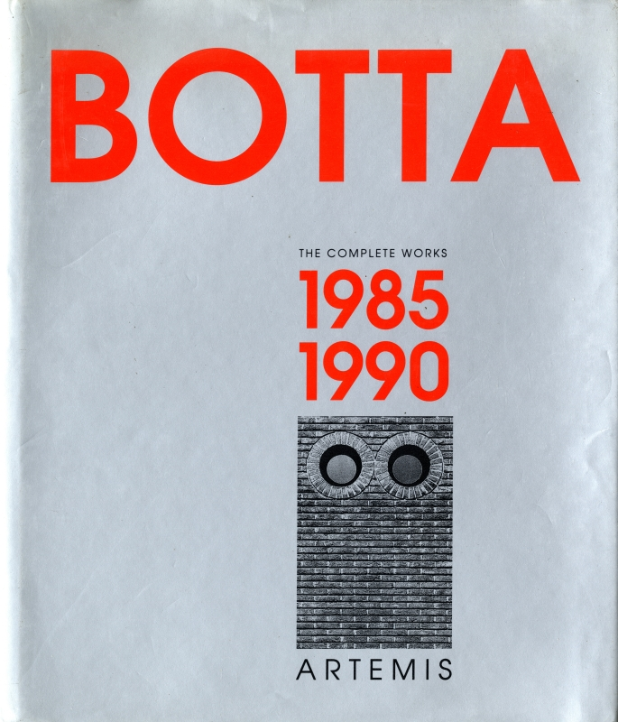 Mario Botta, The Complete Works, Volume 2, 1985-1990