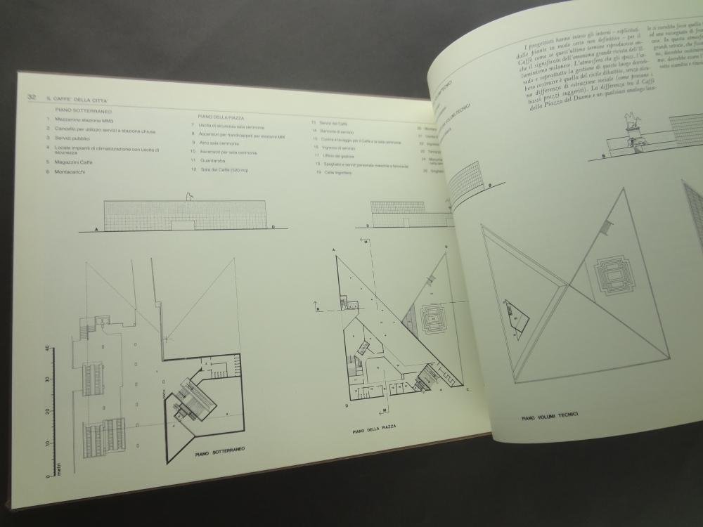 Tre piazze del Duomo: Progetti di Enzo Mari per il recupero e valorizzazione dell'area Duomo-Scala5