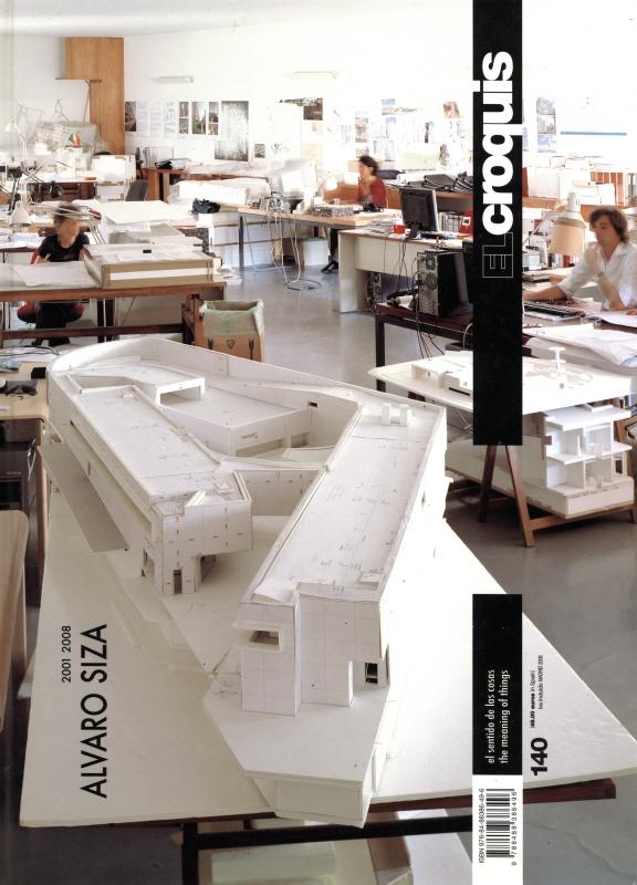 El croquis N. 140: Alvaro Siza 2001-2008