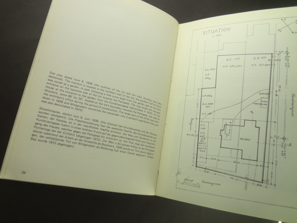 The Architecture of Ludwig Wittgenstein: A Documentation1