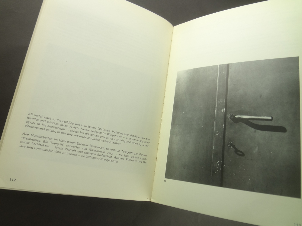 The Architecture of Ludwig Wittgenstein: A Documentation3