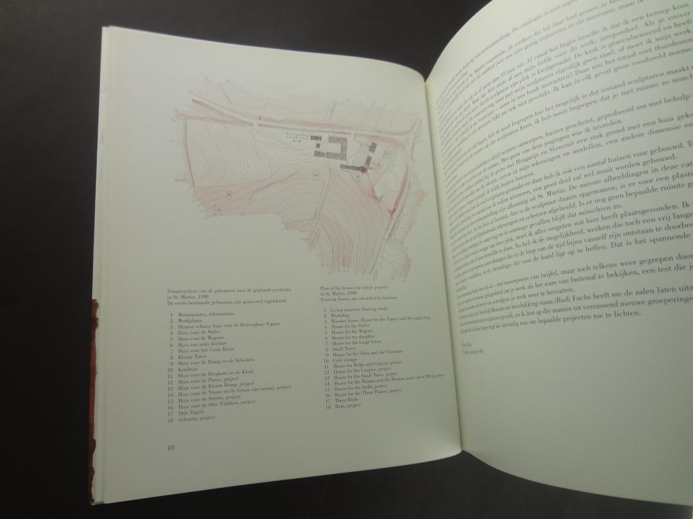 Walter Pichler Drawings: Sculptures: Buildings / Tekeningen: Beelden: Gebouwen1