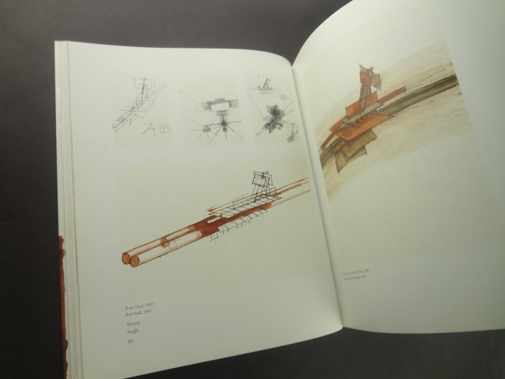 Walter Pichler Drawings: Sculptures: Buildings / Tekeningen: Beelden: Gebouwen3