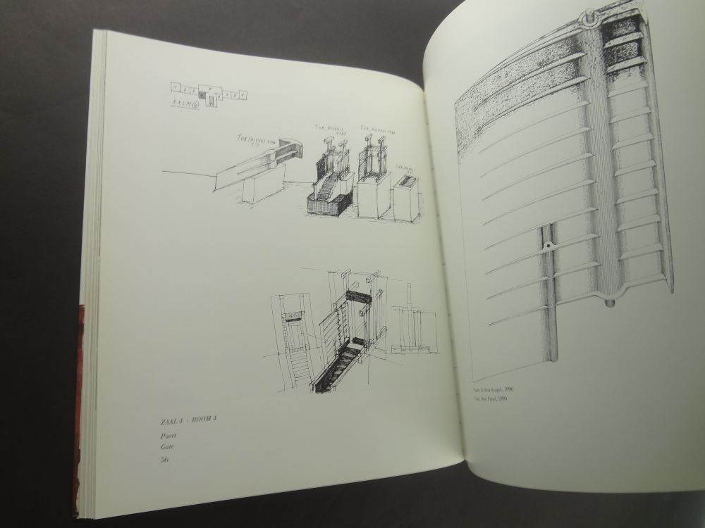 Walter Pichler Drawings: Sculptures: Buildings / Tekeningen: Beelden: Gebouwen4