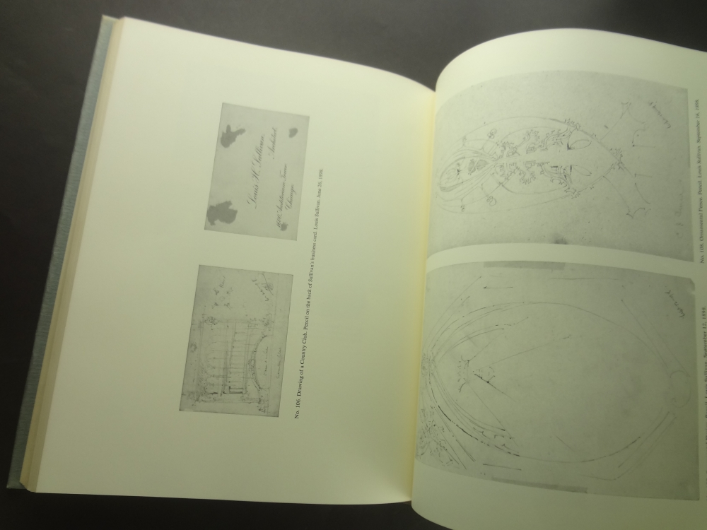 The Drawings of Louis Henry Sullivan: A Catalogue of the Frank Lloyd Wright Collection at the Avery Architectural Library3