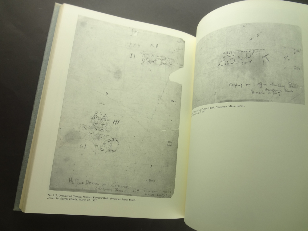 The Drawings of Louis Henry Sullivan: A Catalogue of the Frank Lloyd Wright Collection at the Avery Architectural Library4
