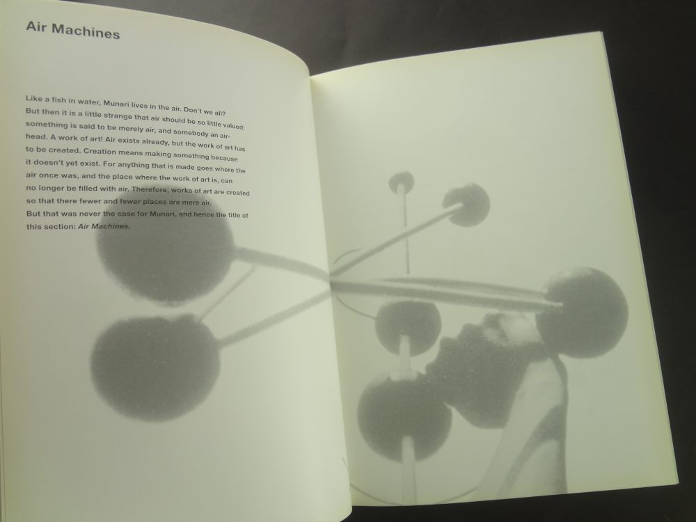 Air Made Visible / Far vedere l'aria: A Visual Reader on Bruno Munari1