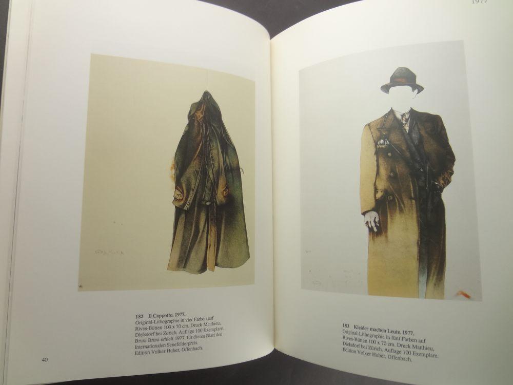 Bruno Bruni: Werkverzeichnis der Farblithographien 1976-19851
