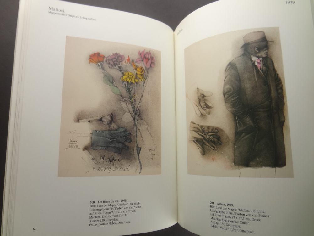 Bruno Bruni: Werkverzeichnis der Farblithographien 1976-19852