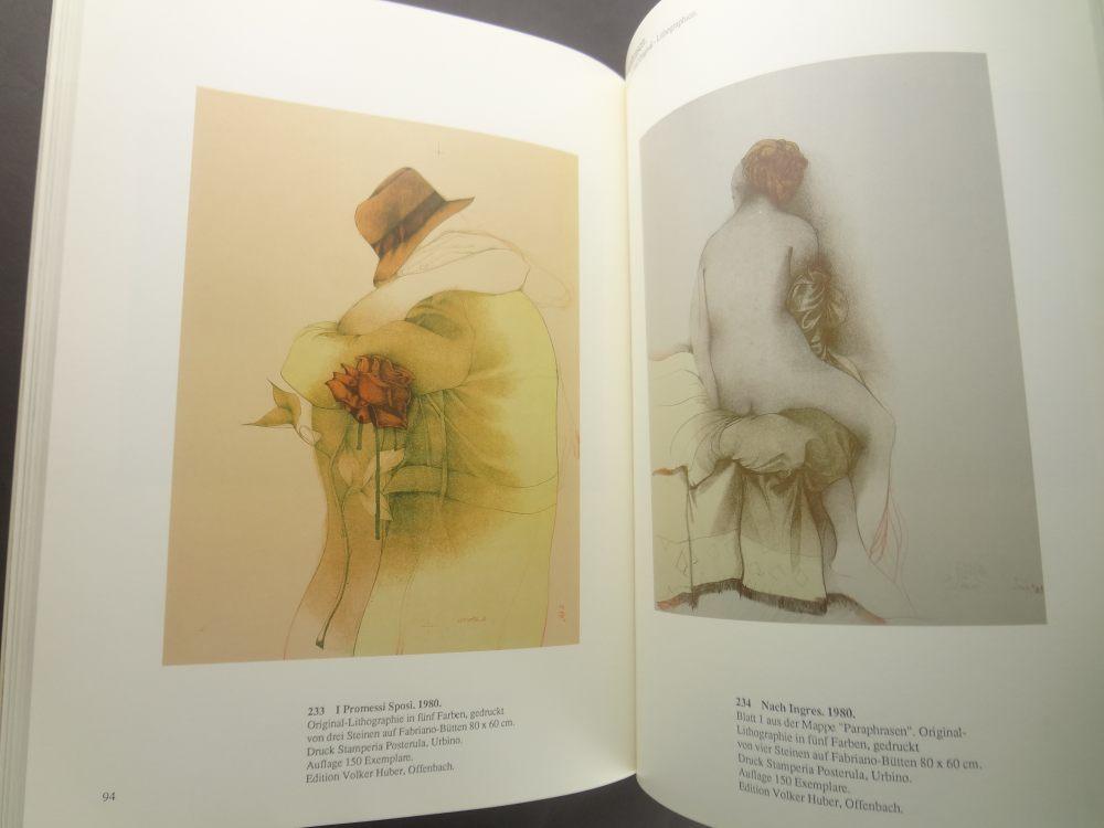 Bruno Bruni: Werkverzeichnis der Farblithographien 1976-19853