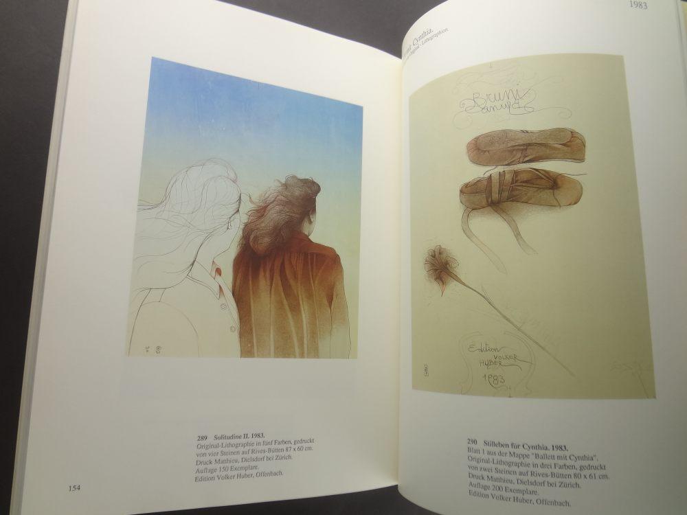 Bruno Bruni: Werkverzeichnis der Farblithographien 1976-19854