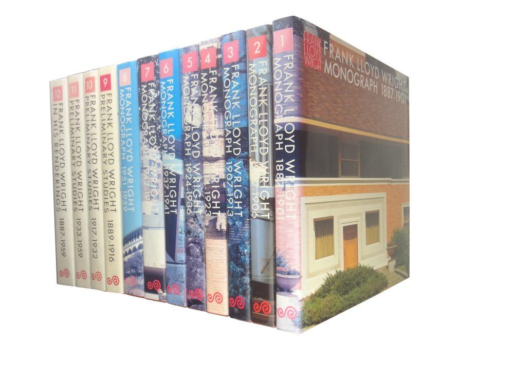 フランク・ロイド・ライト全集 全12巻 揃いセット