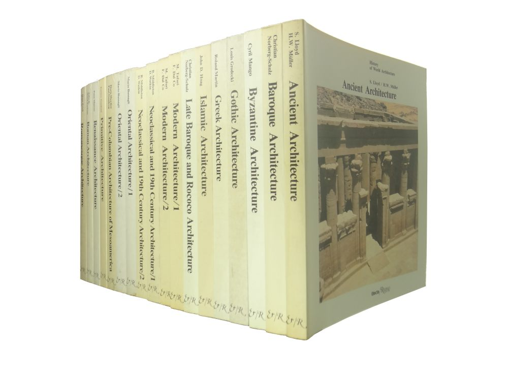 History of World Architecture, 18 vols 全18冊揃いセット1